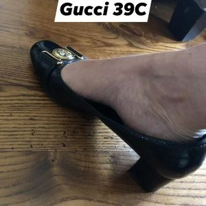 VTG GUCCI SHOES 39C